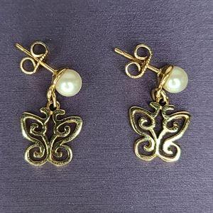 James Avery 14kt. RARE & RETIRED Earrings
